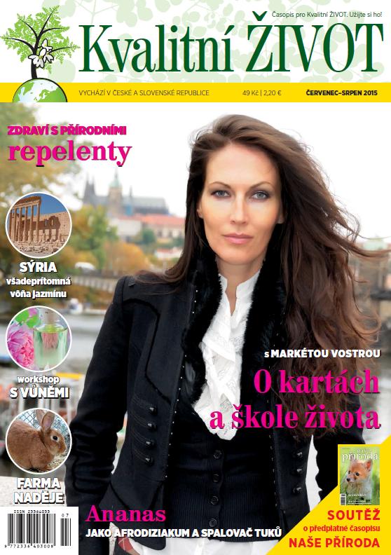 Časopis Kvalitní ŽIVOT - 7-8 / 2015 (ČERVENEC - SRPEN)
