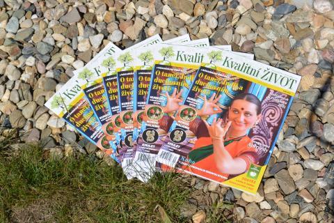 Časopis Kvalitní ŽIVOT - 9 / 2015 (ZÁŘÍ) - čerstvě přivezený z tiskárny