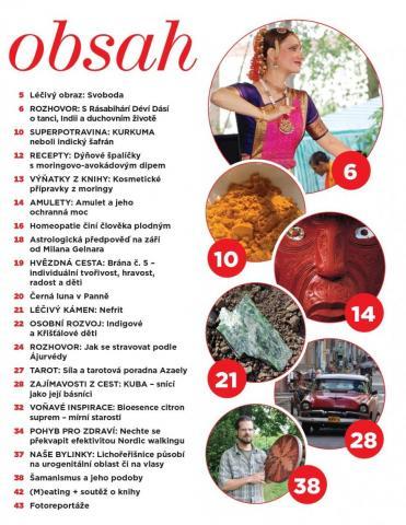 Časopis Kvalitní ŽIVOT - 9 / 2015 (ZÁŘÍ) - obsah čísla