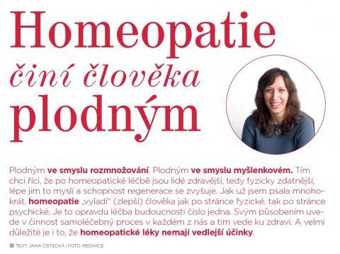 Časopis Kvalitní ŽIVOT - 9 / 2015 (ZÁŘÍ) - Homeopatie činí člověka plodným