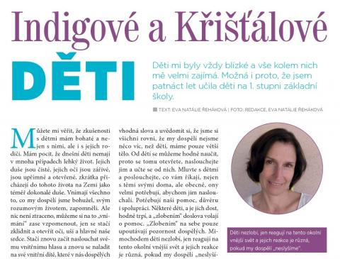 Časopis Kvalitní ŽIVOT - 9 / 2015 (ZÁŘÍ) - Indigové a křišťálové děti
