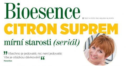 Časopis Kvalitní ŽIVOT - 9 / 2015 (ZÁŘÍ) - Bioesence Citron Suprem