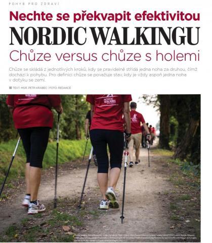 Časopis Kvalitní ŽIVOT - 9 / 2015 (ZÁŘÍ) - Nordic Walking