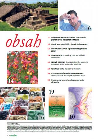Časopis pro Kvalitní ŽIVOT - 1 / 2015 (LEDEN) - Obsah - 1