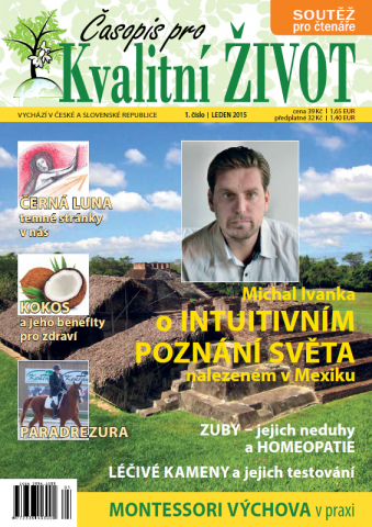 Časopis pro Kvalitní ŽIVOT - 1 / 2015 (LEDEN) - Titulní stránka