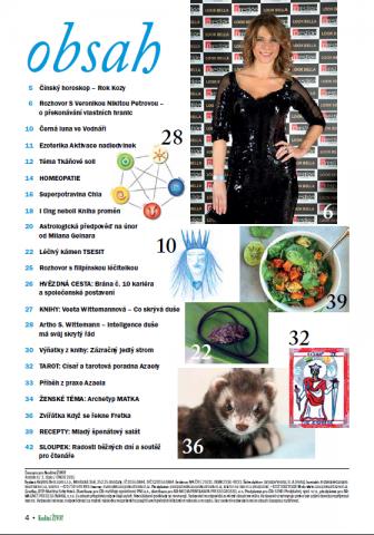 Časopis pro Kvalitní ŽIVOT - 2 / 2015 (ÚNOR) - Obsah