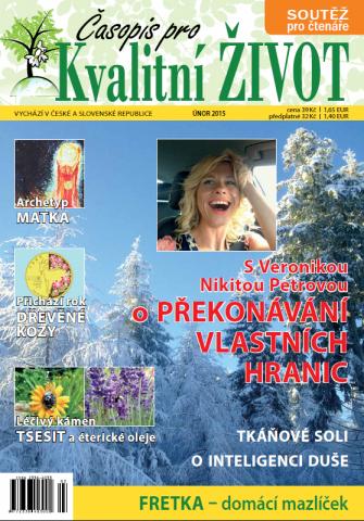 Časopis pro Kvalitní ŽIVOT - 2 / 2015 (ÚNOR) - Titulní Strana