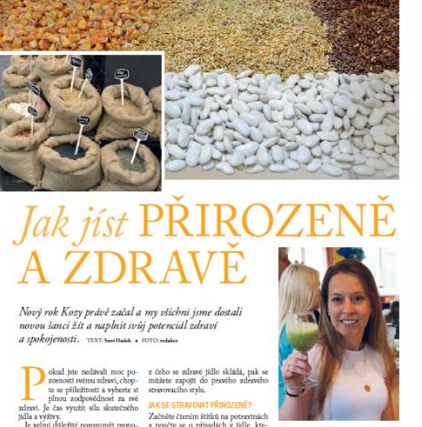 Časopis pro Kvalitní ŽIVOT - 3 / 2015 (BŘEZEN) - Jak jíst přirozeně a zdravě