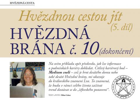 Časopis pro Kvalitní ŽIVOT - 3 / 2015 (BŘEZEN) - Hvězdná brána č. 10