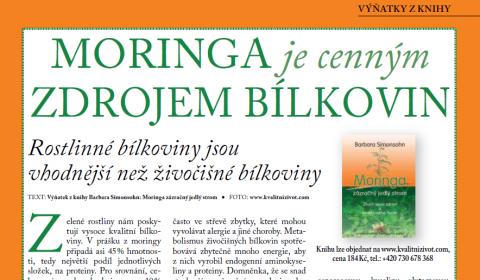 Časopis pro Kvalitní ŽIVOT - 3 / 2015 (BŘEZEN) - Moringa a bílkoviny
