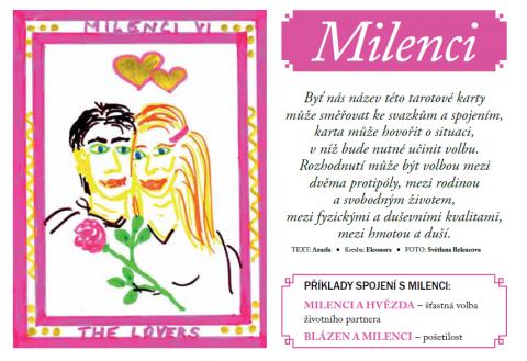 Časopis pro Kvalitní ŽIVOT - 3 / 2015 (BŘEZEN) - Milenci a tarotová poradna Azaely