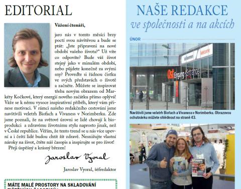 Časopis pro Kvalitní ŽIVOT - 3 / 2015 (BŘEZEN) - Editoriál