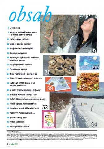Časopis pro Kvalitní ŽIVOT - 3 / 2015 (BŘEZEN) - Obsah