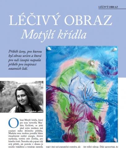 Časopis pro Kvalitní ŽIVOT - 3 / 2015 (BŘEZEN) - Léčivý obraz