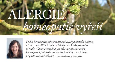 Časopis pro Kvalitní ŽIVOT - 3 / 2015 (BŘEZEN) - Alergie homeopatie vyřeší