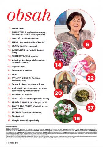 Časopis pro Kvalitní ŽIVOT - 4 / 2015 (DUBEN) - Obsah