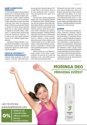 Jak nám škodí deodoranty 2. - Kvalitní ŽIVOT - červen 2015