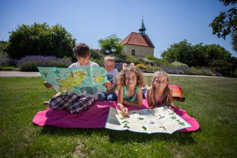 Dětská mapa baví děti Heldej 14 www.botanicka.cz