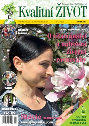 Časopis pro Kvalitní ŽIVOT - 5 / 2015 (KVĚTEN) - Titulní strána