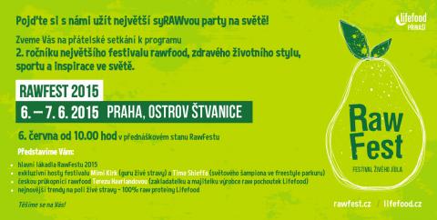 Pozvánka Rawfest 2015