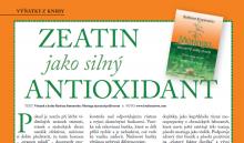 Výňatky z knihy: Zázračný jedlý strom - ZEATIN jako silný ANTIOXIDANT