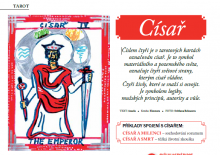 TAROT: Císař a tarotová poradna Azaely