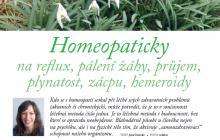HOMEOPATIE - Homeopaticky na reflux, pálení žáhy, průjem, plynatost, zácpu, hemeroidy