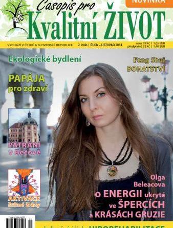 Časopis pro Kvalitní ŽIVOT - 2 / 2014 (ŘÍJEN - LISTOPAD)