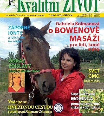 Časopis pro Kvalitní ŽIVOT - 1 / 2014 (SRPEN - ZÁŘÍ)