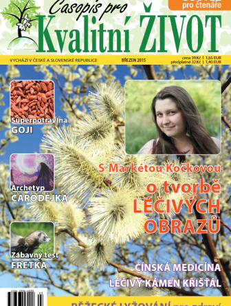 Časopis pro Kvalitní ŽIVOT - 3 / 2015 (BŘEZEN) - Titulní stránka