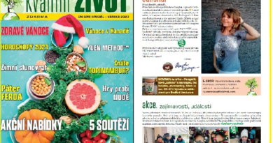Čtěte časopis Kvalitní ŽIVOT, on-line speciál