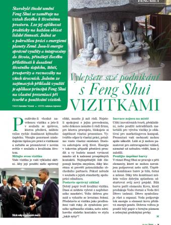 Vylepšete své podnikání s Feng Shui Vizitkami